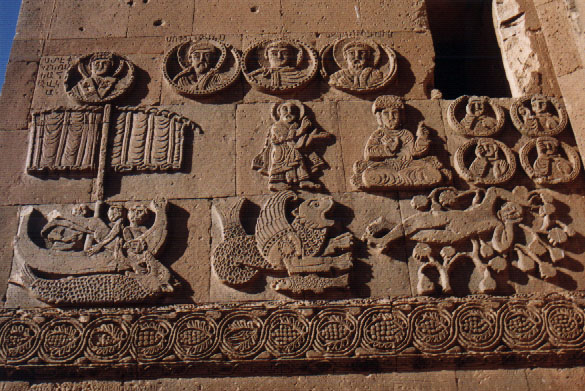 stone carvings, Akdamar Church