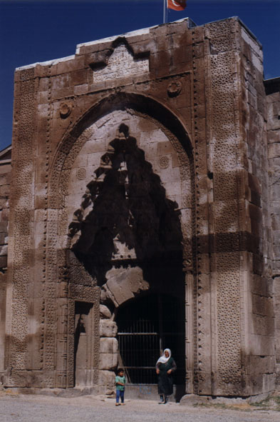 giant stone gate