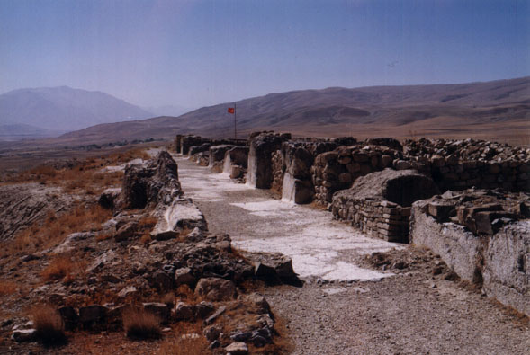 cavustepe's stone ruins