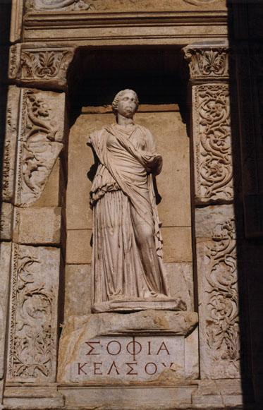 Marble Statue of Sophia (Wisdom), Ephesus