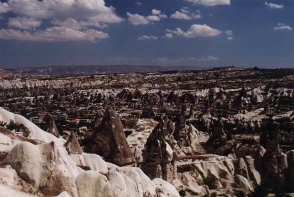 landscape of Goreme