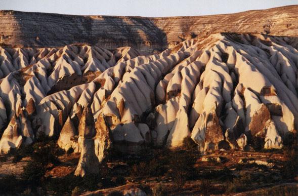 tufa landscape