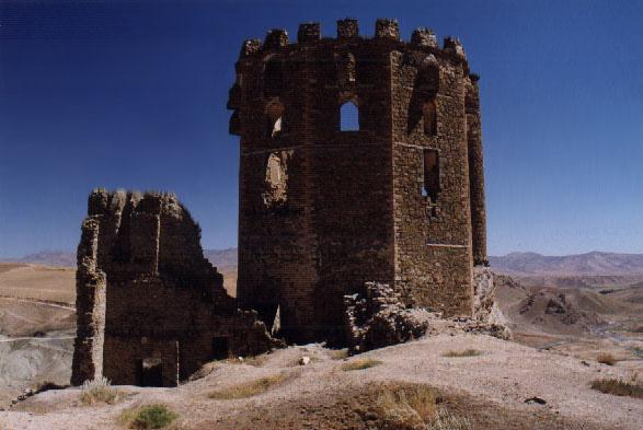 Hosap Castle, citadel ruins