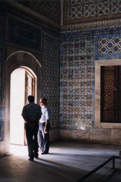Topkapi courtyard