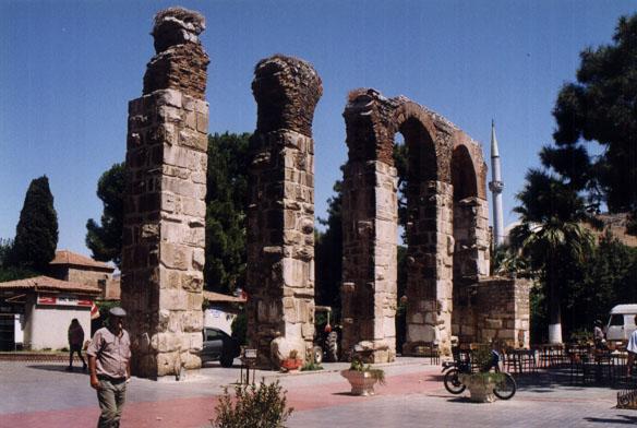 Ruins of a Roman aqueduct