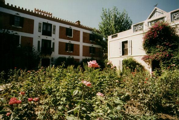 Rose garden, Kalehan Hotel, Selcuk