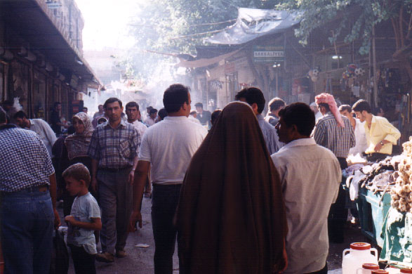 Urfa market scene