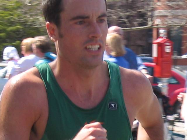 runner closeup
