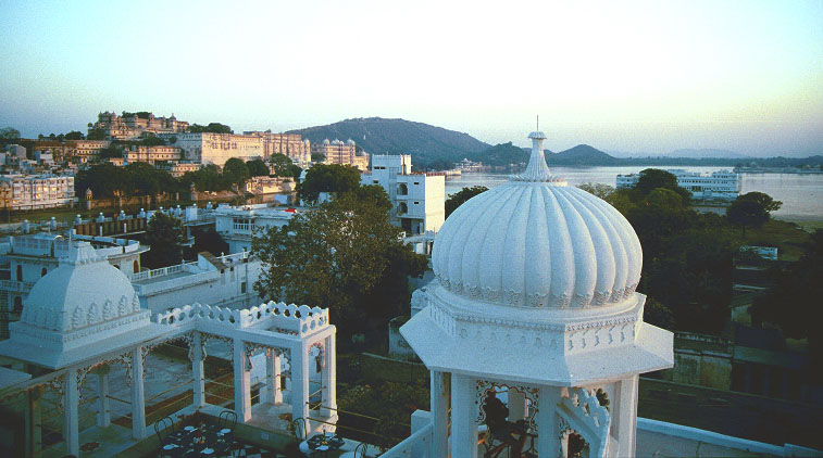 view of udaipur from our hotel the udai kothi